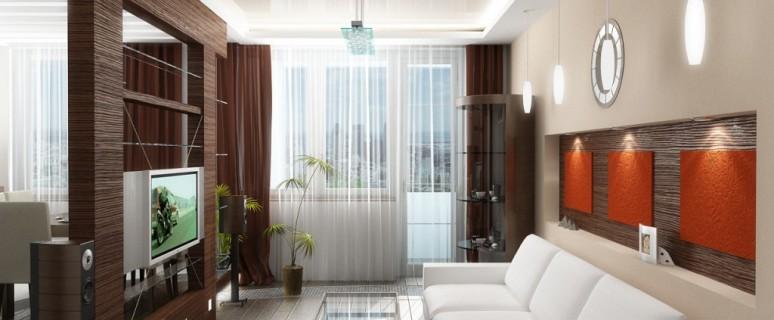 Дизайн и фото узких гостиных. правила дизайна интерьера для .