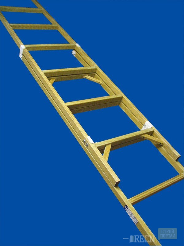 Приставная лестница из дерева своими руками: видео-инструкция как.