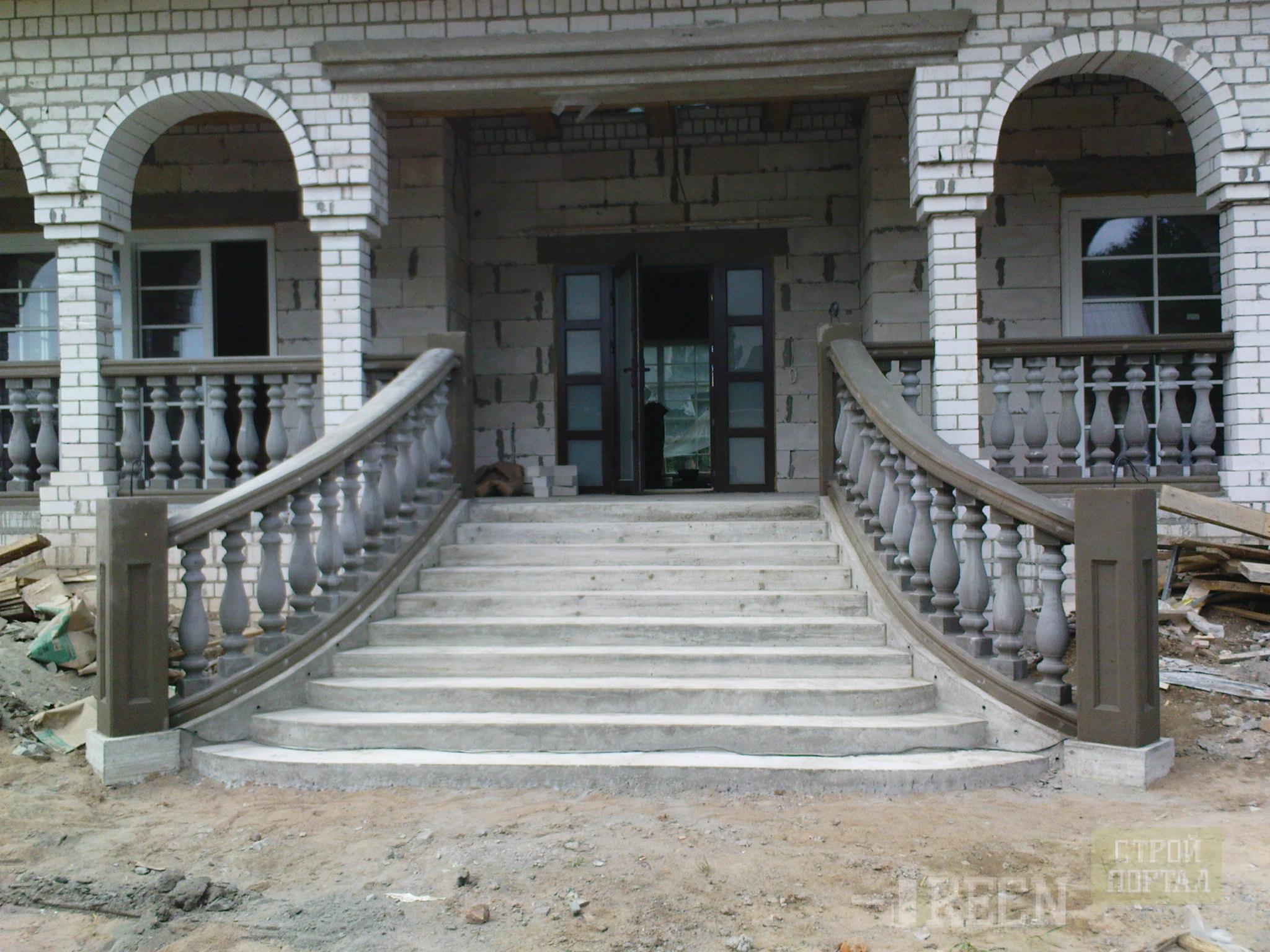 Наружные лестницы фото