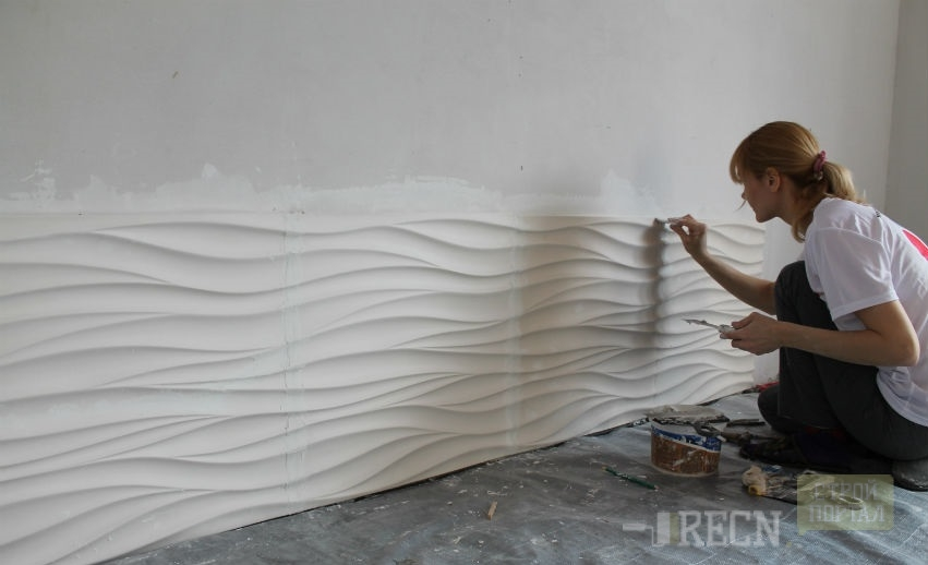 3 д панели для стен своими руками