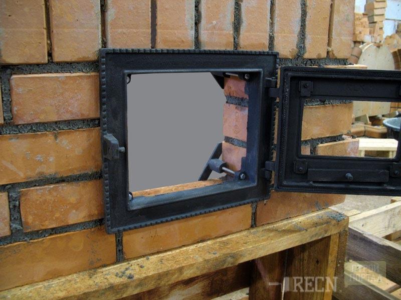 Двери для печи своими руками