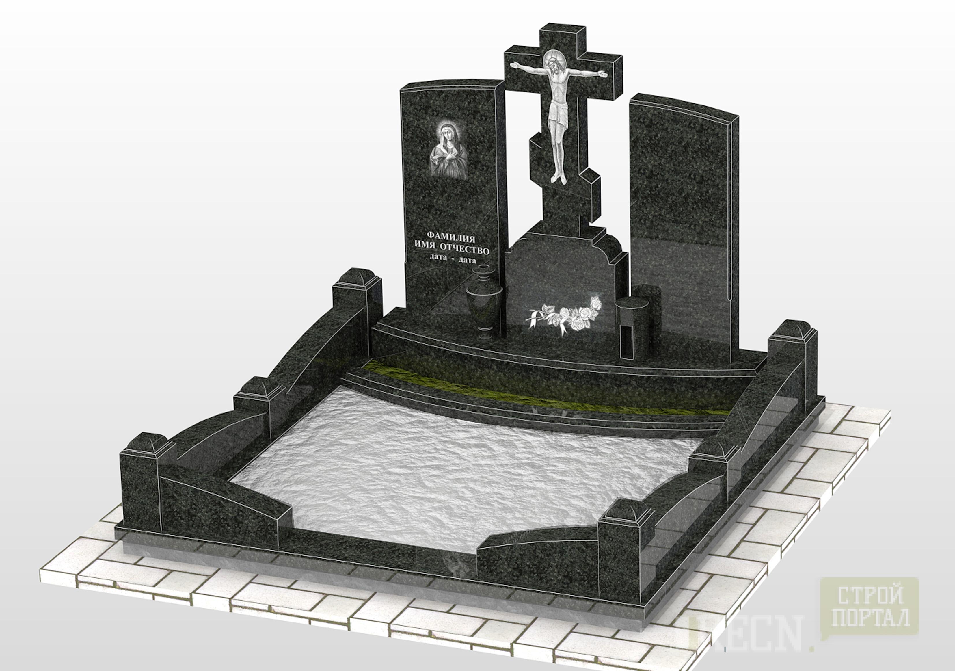 Установка памятника на могилу своими руками фото 599