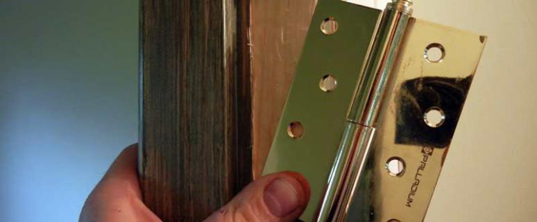 Как сделать петель на дверь 40