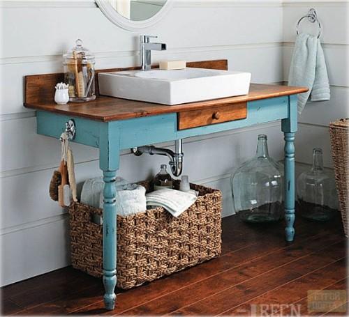 Мебель для ванной своим руками