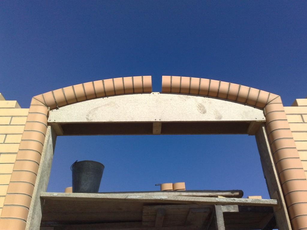 Как сделать арку из кирпича своими руками 81