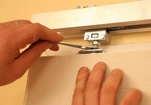 установить раздвижные двери своими руками видео