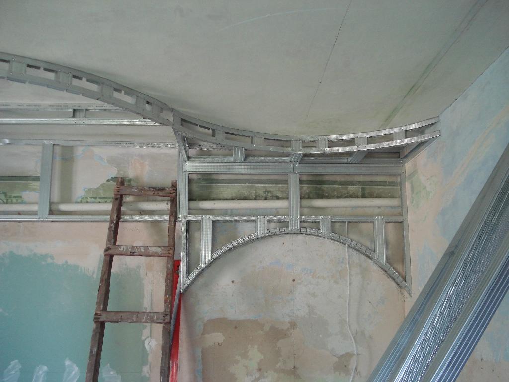 Изготовление арок из гипсокартона своими руками фото