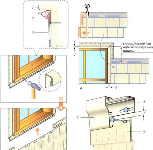Сайдинг пошаговая инструкция окна