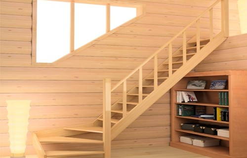 Деревянная лестница своими руками