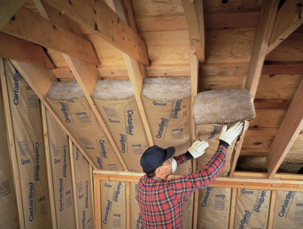 Утепление потолка мансарды своими руками 1159
