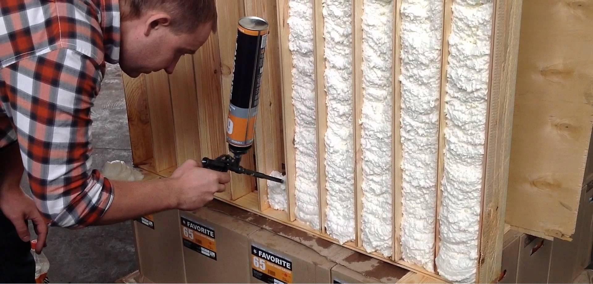Как сделать строительную пену