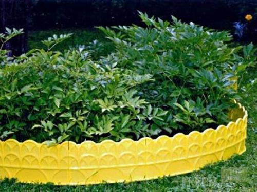 Садовый бордюр для клумб