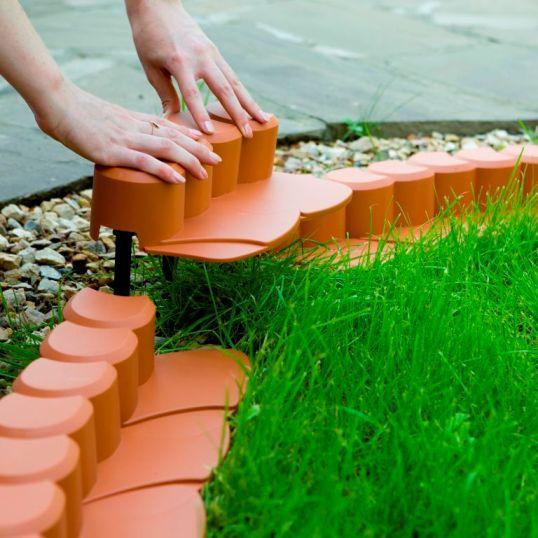 Как правильно выбрать бордюр садовый - Строительный Блог