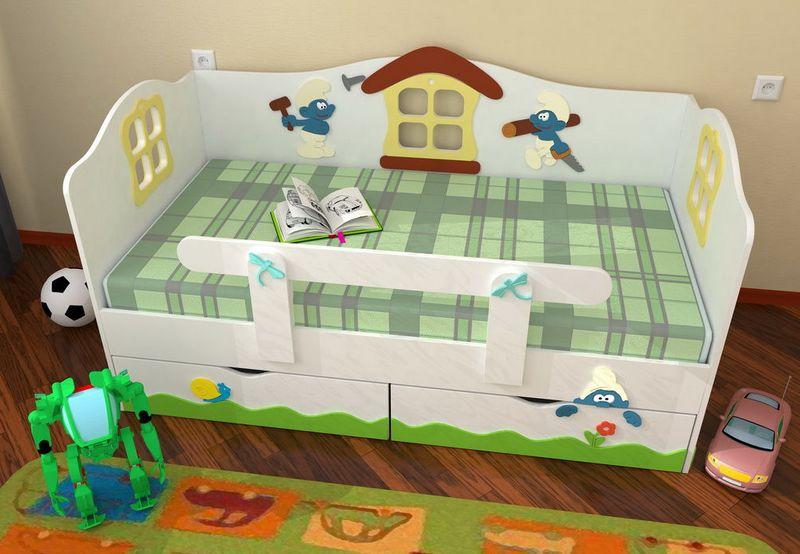 Кровать для ребёнка от 3 лет своими руками 797