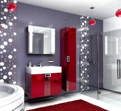 Комплект Поинт бриллиантово-красный 80