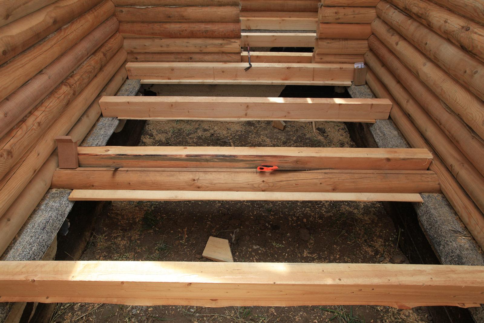 Деревянные полы в деревянном доме своими руками