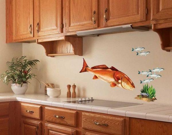 Отделка стен на кухне варианты своими руками фото