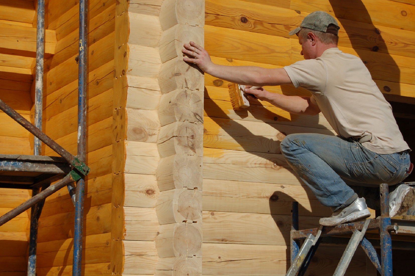 Обслуживание деревянных домов