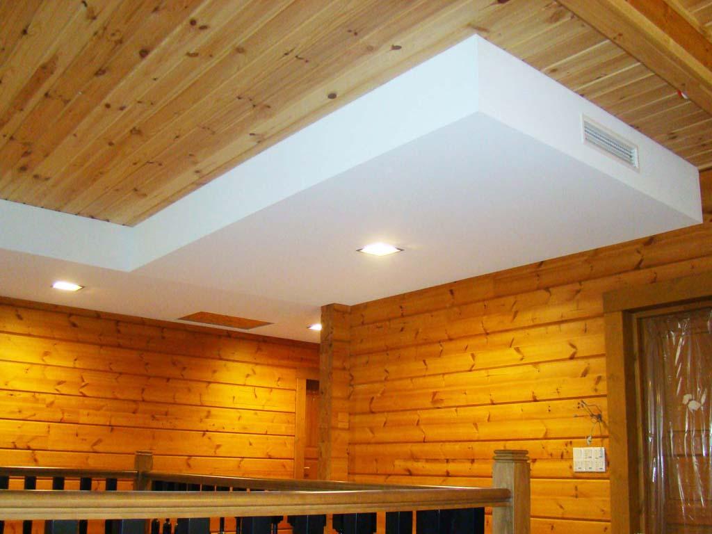 Как сделать потолок в частном до 204