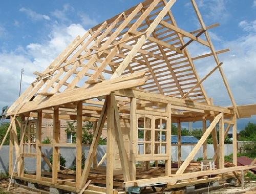 Постройка деревянного дома своими руками