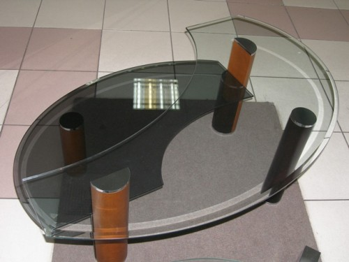 Сделать своими руками стеклянный стол 363
