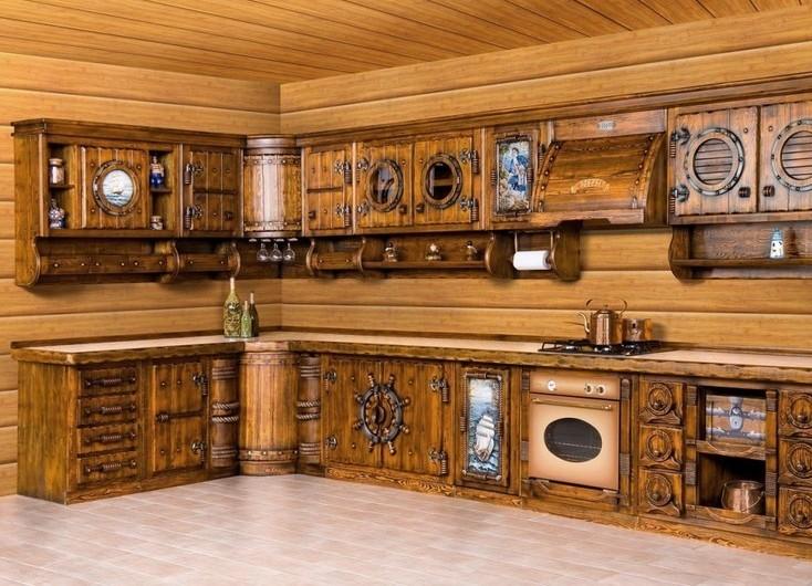 Мебель для кухни из дерева своими руками Shtory-Vlg.ru