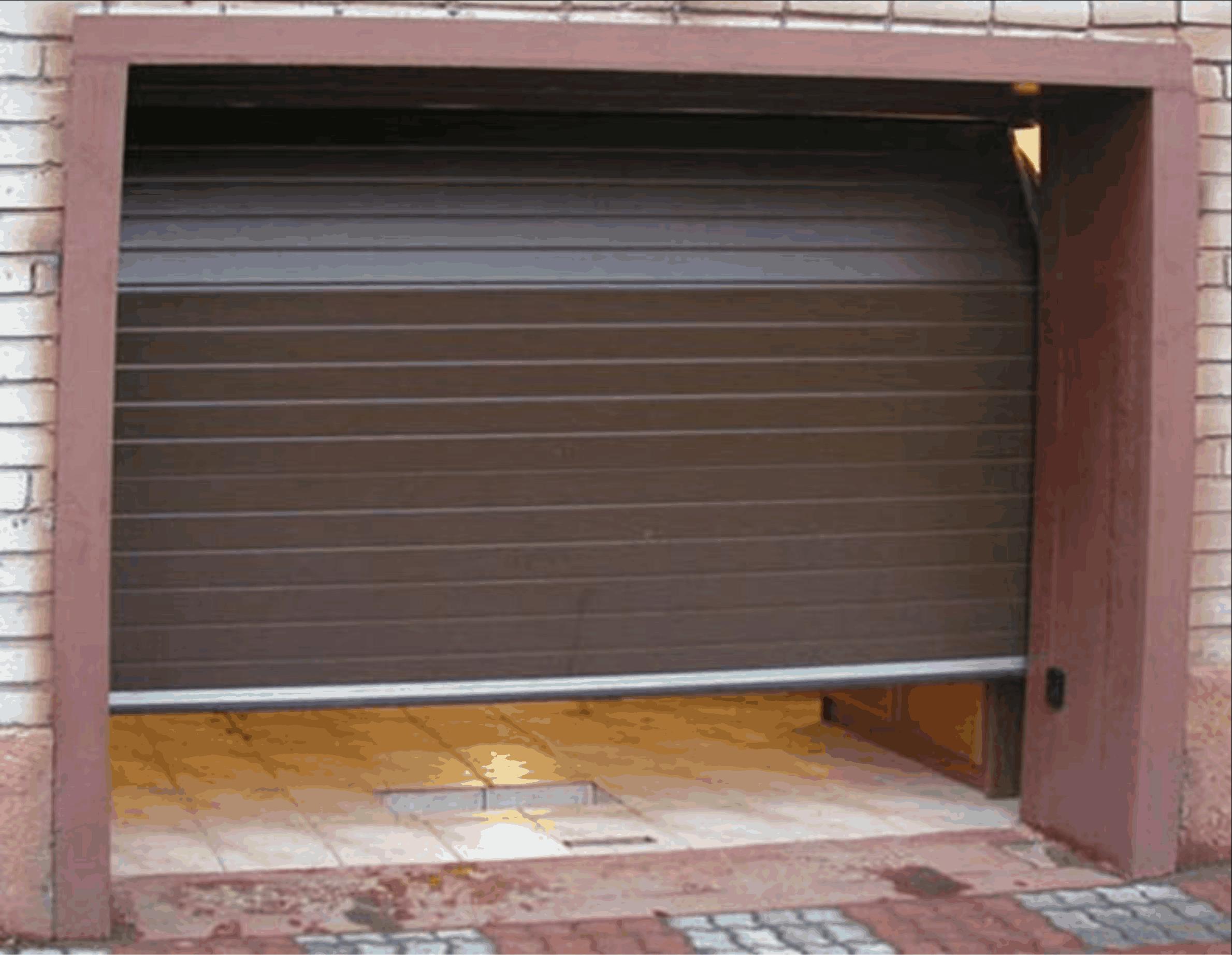 Рольставни для гаража своими руками