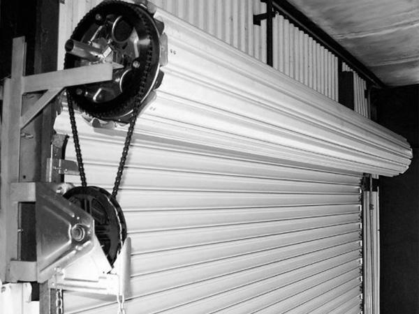 Рольставни в гараж своими руками