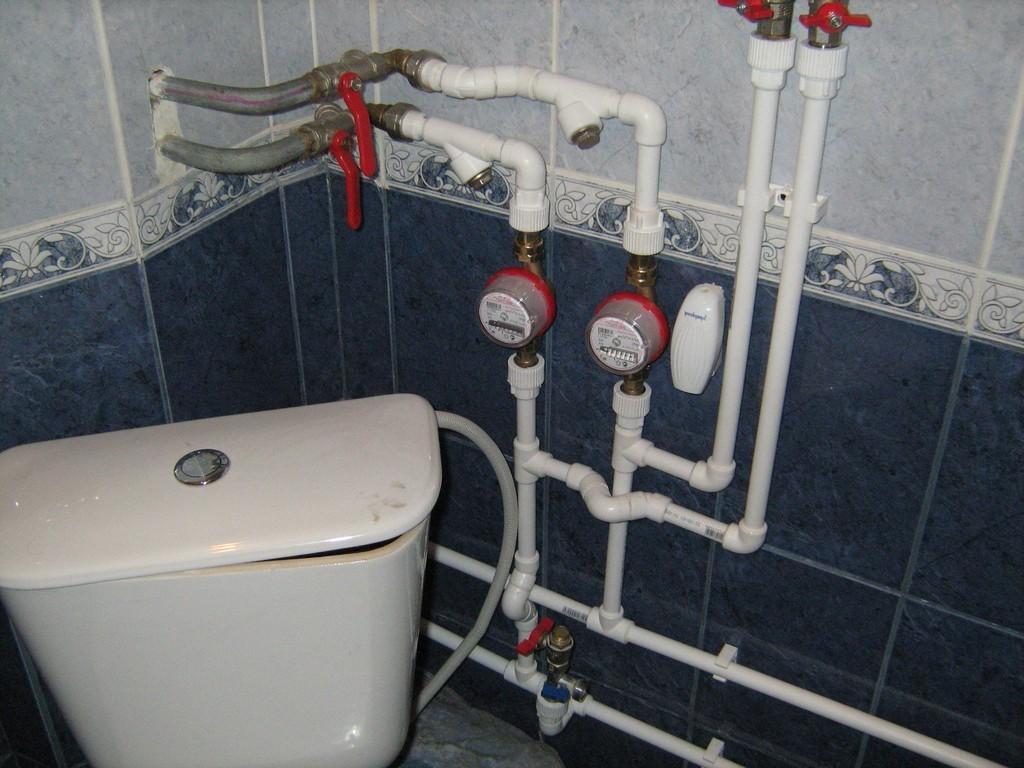 Схема установки водосчетчика в квартире фото 117