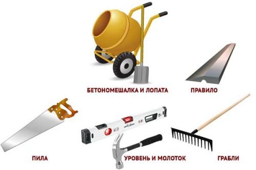 sadovye-dorozhki-iz-betona-svoimi-rukami-instrument