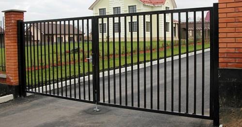 ворота-из-профильной-трубы
