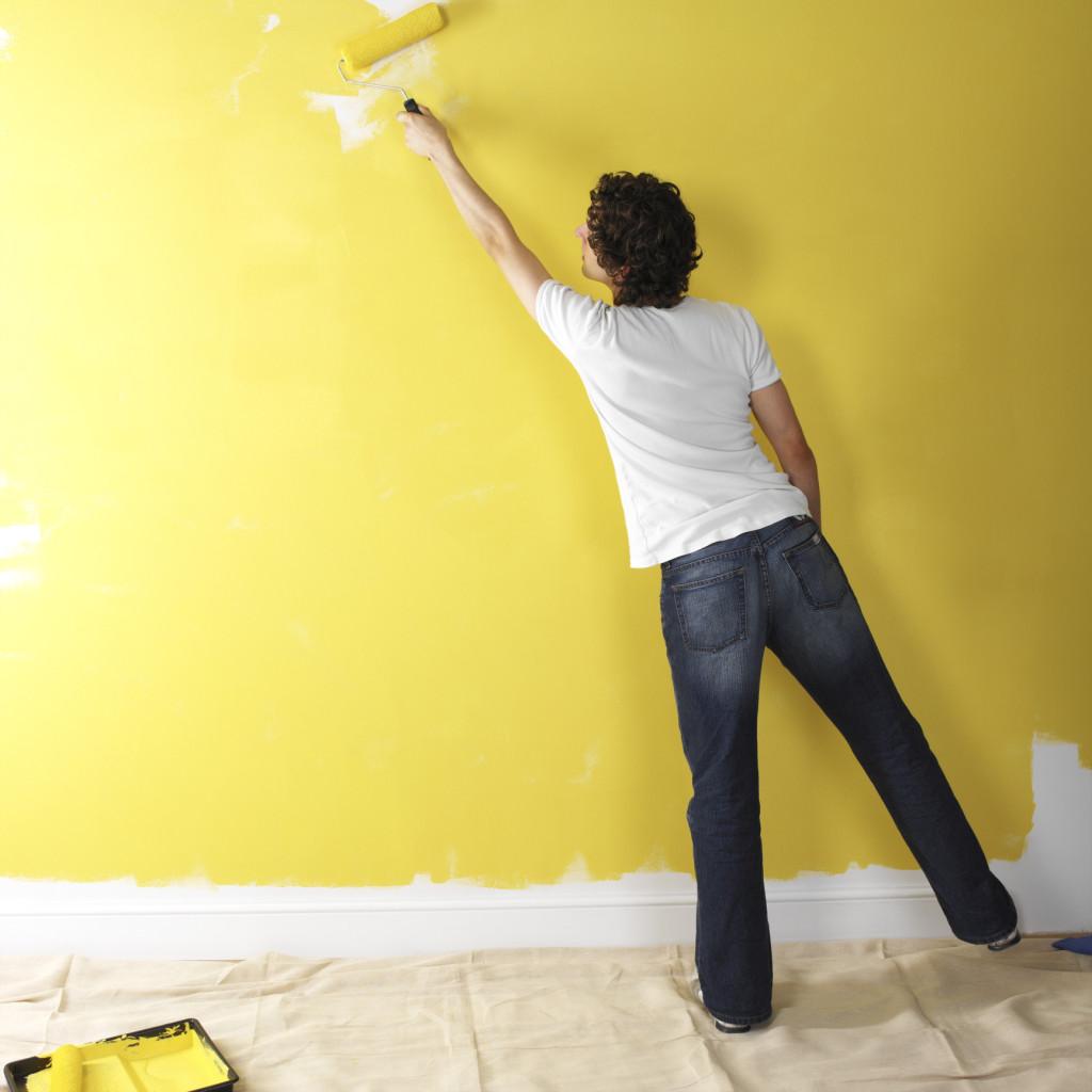 Ремонт своими руками цвет стен