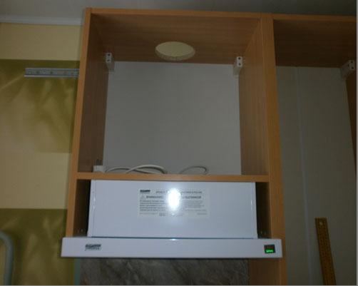 Шкаф для встроенной вытяжки своими руками 957
