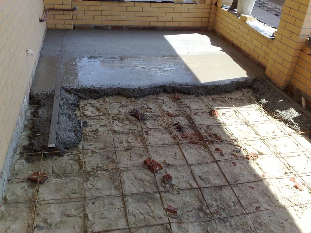 Как сделать теплый пол из бетона