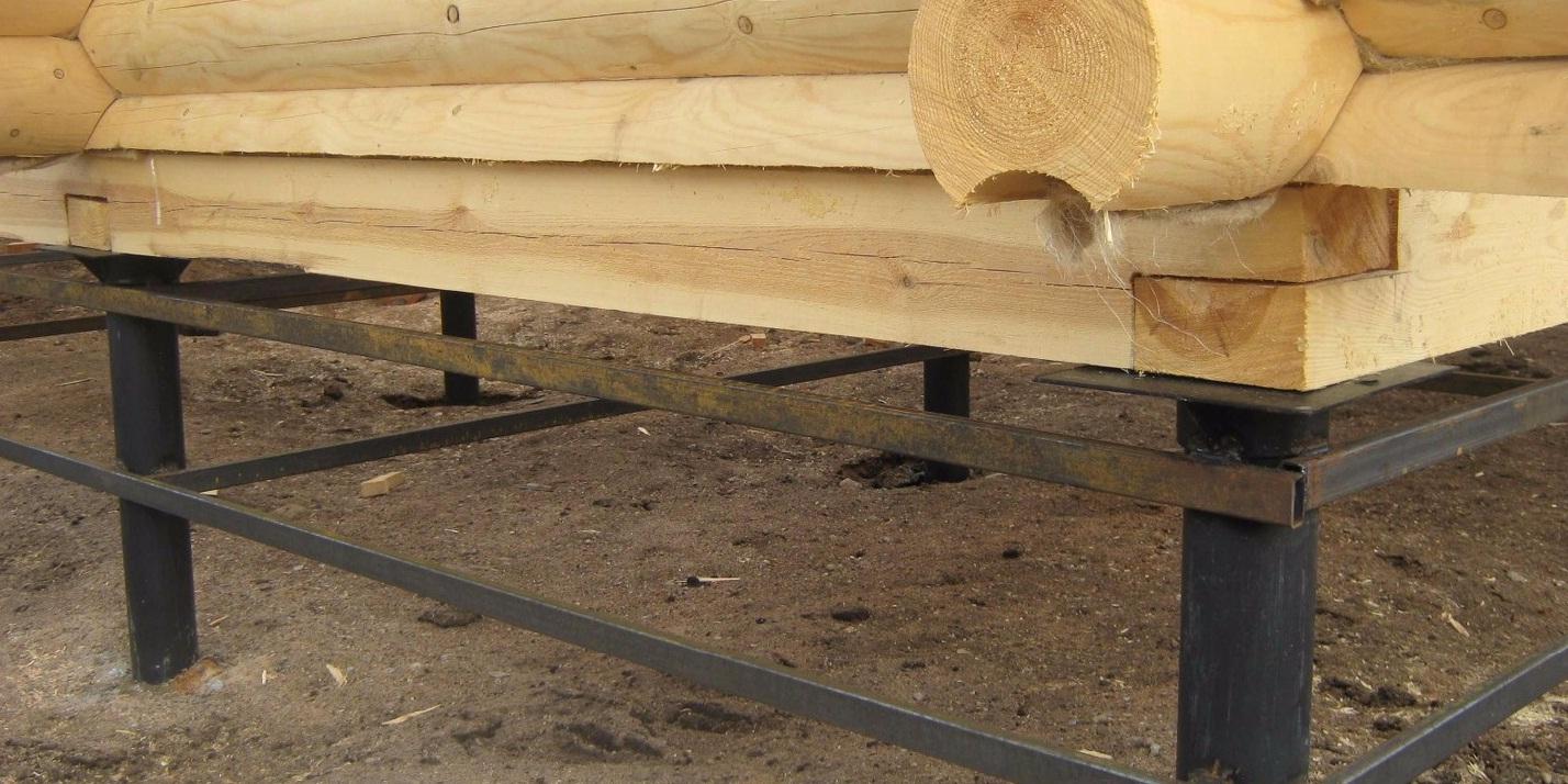 Как сделать свайный фундамент из кирпича