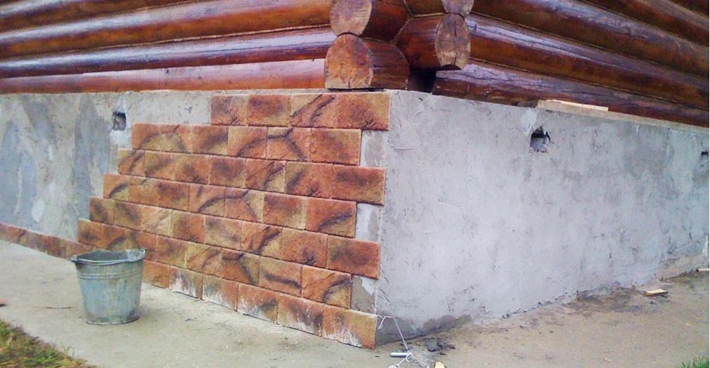 Как украсить фундамент