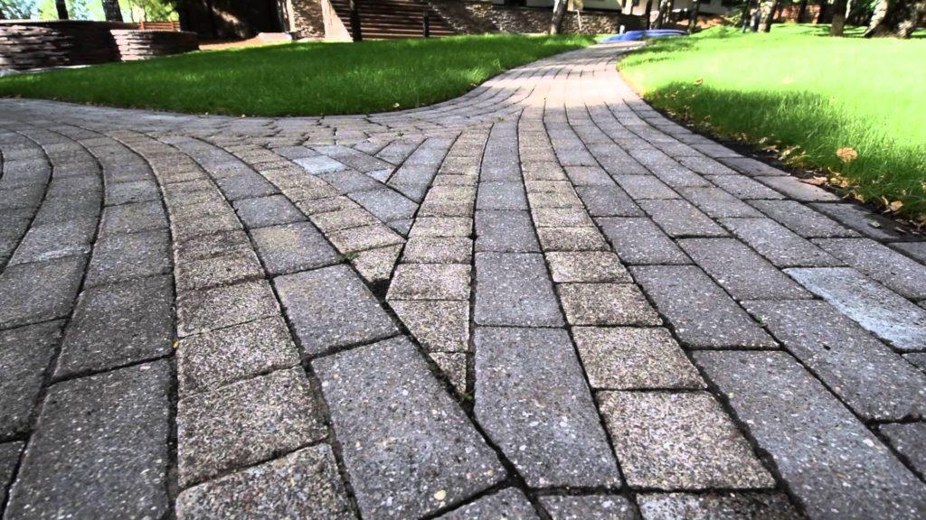 Садовые дорожки из тротуарной плитки своими руками с малыми затратами фото